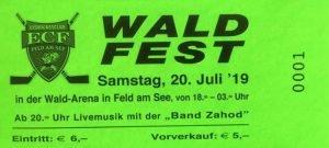 Waldfest Feld am See